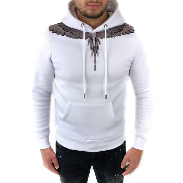 Richesse Winged Hoodie White 3304