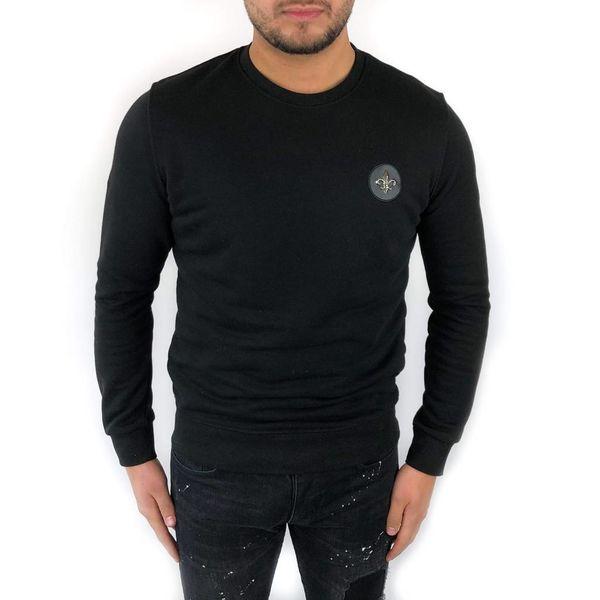 Richesse Royal Sweater Black 3308
