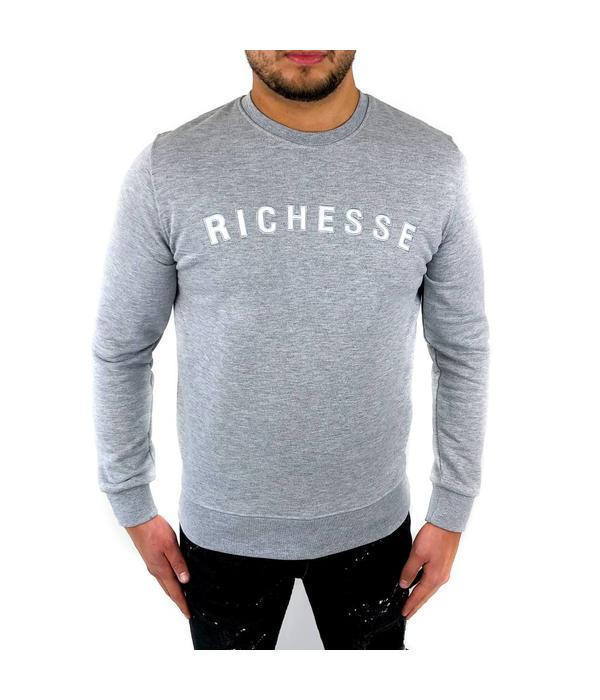 richesse Richesse Sweater Grey 3306