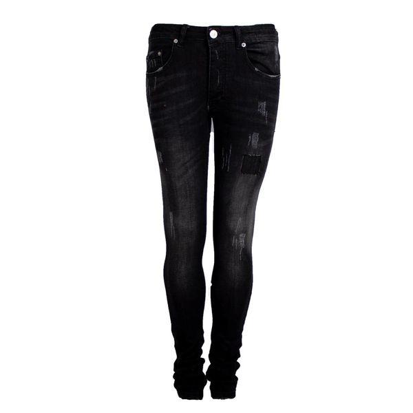 Richesse Jeans H-2206 Black Spots