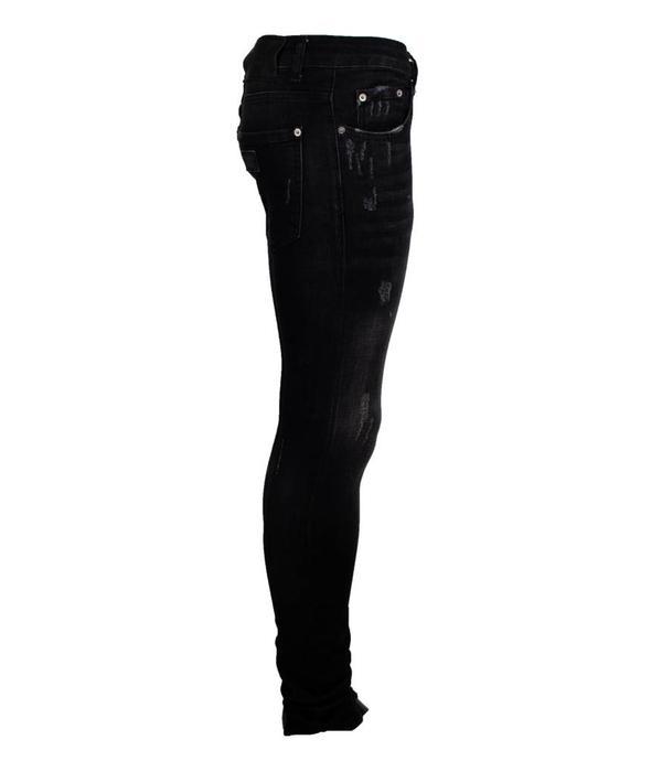 richesse Richesse Jeans H-2206 Black Spots