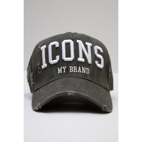 My Brand Icons Army Cap White