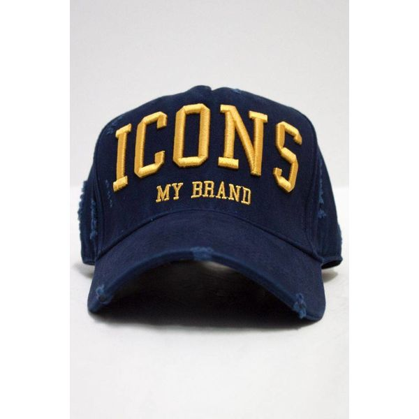 My Brand Icons Navy Cap Yellow