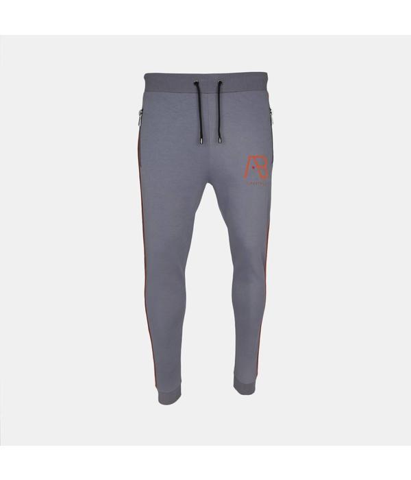 AB-Lifestyle Ab Lifestyle Track Pants - Light Grey