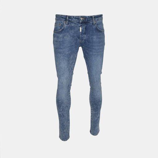 AB-Lifestyle AB Denim Jeans Doubleseem Blue