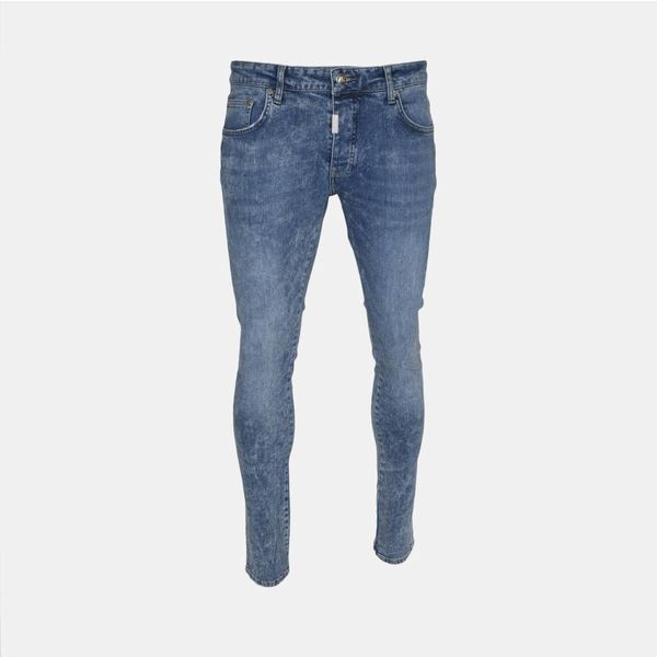 AB Denim Jeans Doubleseem Blue