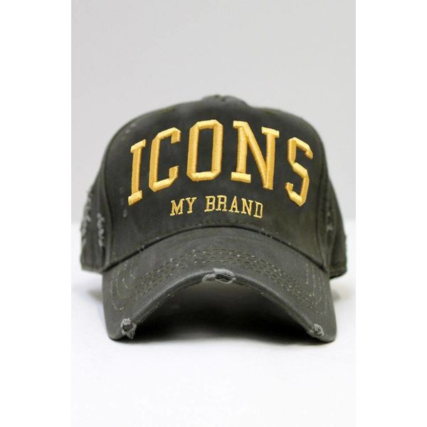 My Brand Icons Army Cap Gold