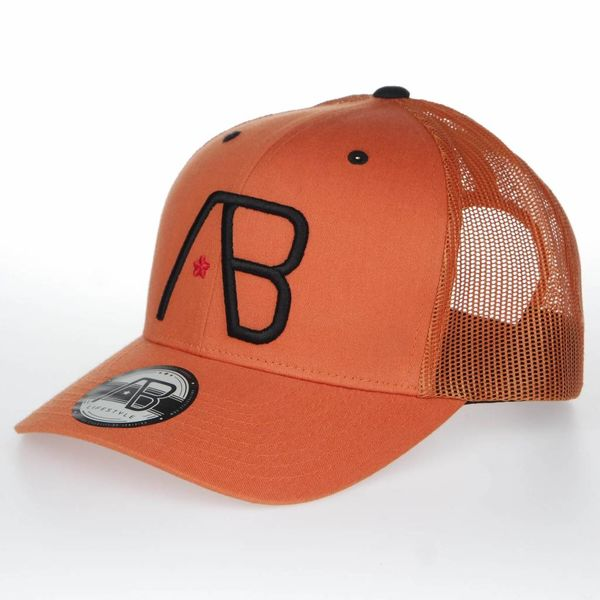 AB Retro Trucker Cap Orange