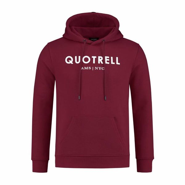 Quotrell Hoodie Bordeaux