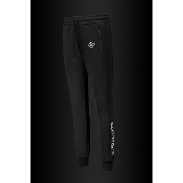 Black Bananas Turtle Black Trackpants