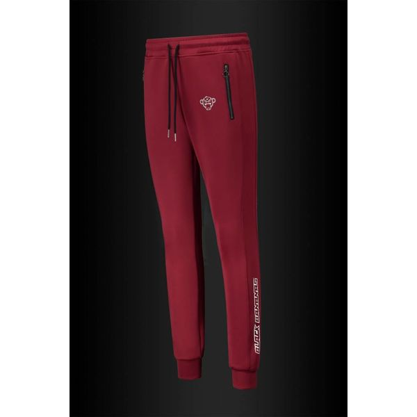 Black Bananas Turtle Trackpants Burgundy