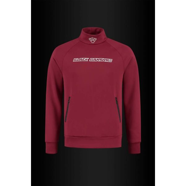 Black Bananas Burgundy Tracktop