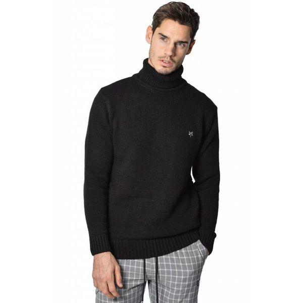 YCLO Hagen Knit Turtleneck Pullover Black