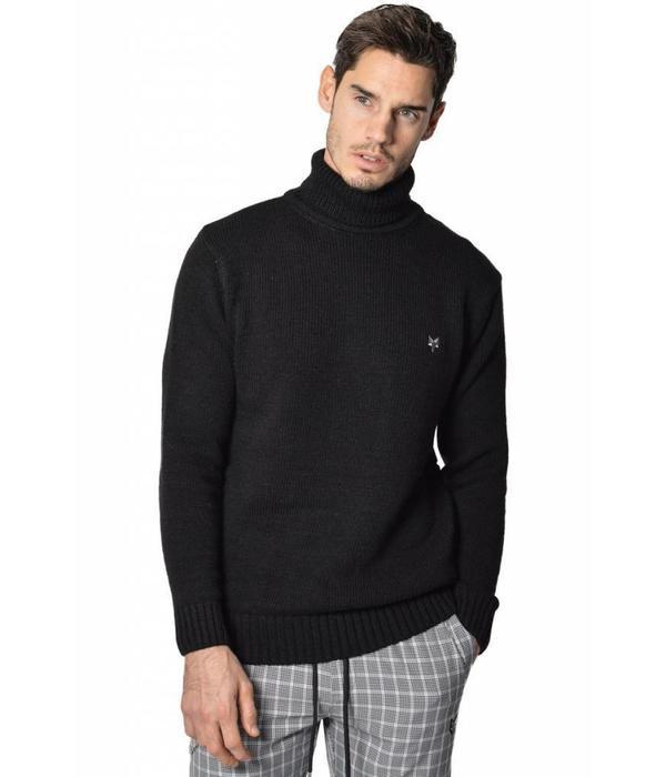 YCLO YCLO Hagen Knit Turtleneck Pullover Black