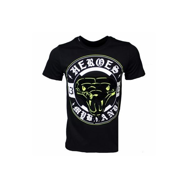 My Brand Snake Hero Logo T-Shirt Black