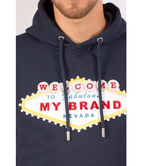My Brand My Brand Nevada Logo Hoodie navy
