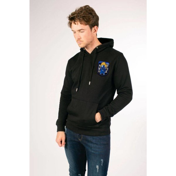 Voodoo Basic Badge Hoodie Black
