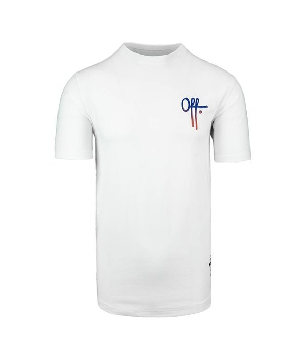Off The Pitch OTP FULL Stop Tee White