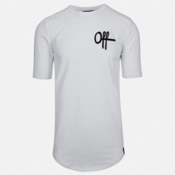 OTP Patch Tee White