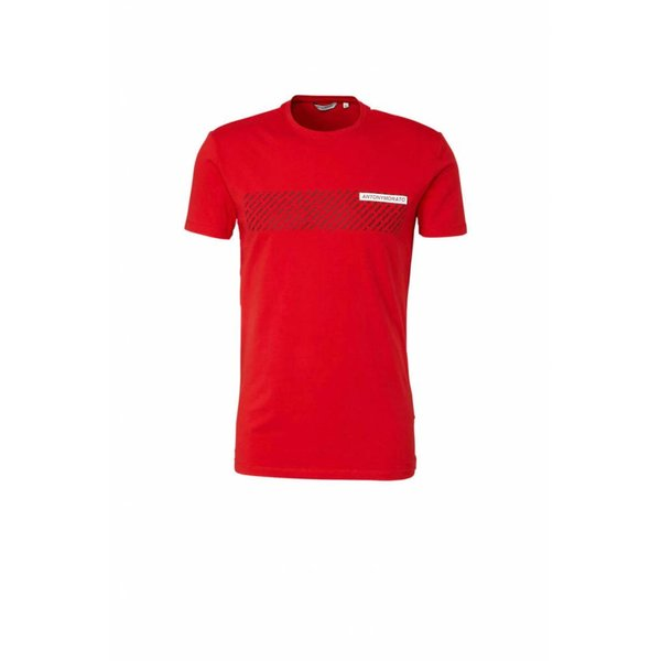 Antony Morato FA120001 T-Shirt Red Black/white