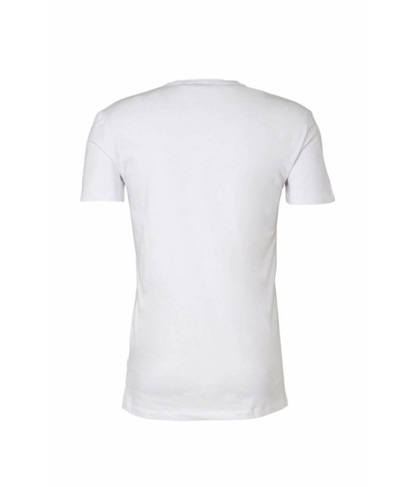 Antony Morato Antony Morato Fa120001 T-Shirt White Black/Red