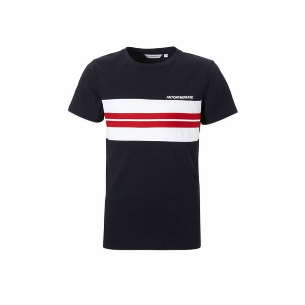 Antony Morato FA100144 T-Shirt Ink Blue red/white