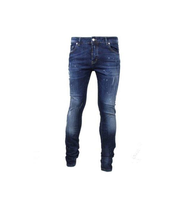 My Brand My Brand Dark Spotted Washed Jeans Denim Blue