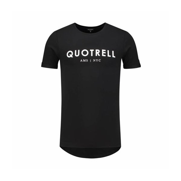 Quotrell Tee Black/White