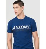 Antony Morato Antony Morato T-Shirt Blue MMKS01573