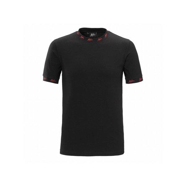 Malelions T-Shirt georginio Black/Red