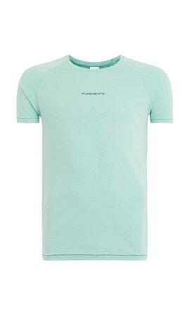 Purewhite T-Shirt LT Green