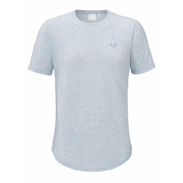 Zumo Bundy-Linen T-Shirt Blue