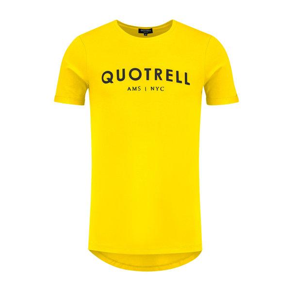 Quotrell Tee Yellow/Black