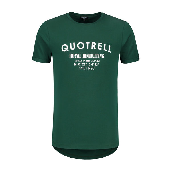 Quotrell Royal Recruiting Tee Petro/white