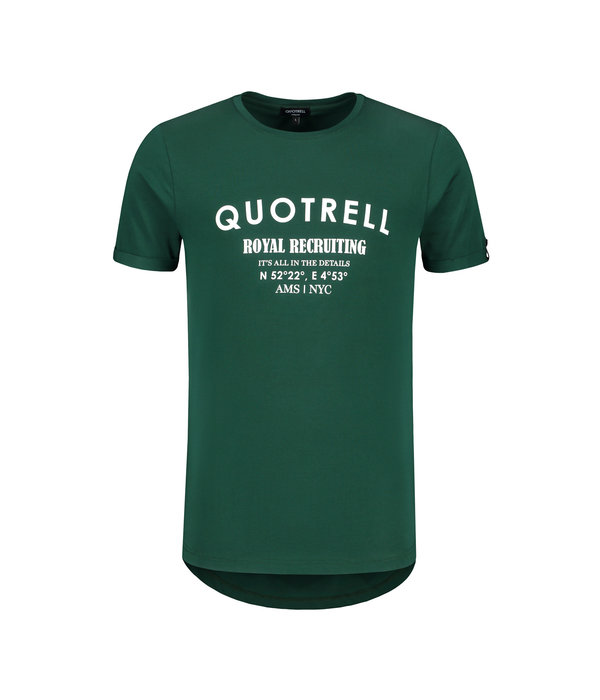 Quotrell Quotrell Royal Recruiting Tee Petro/white