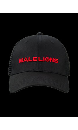 Malelions Malelions Cap Black/Red