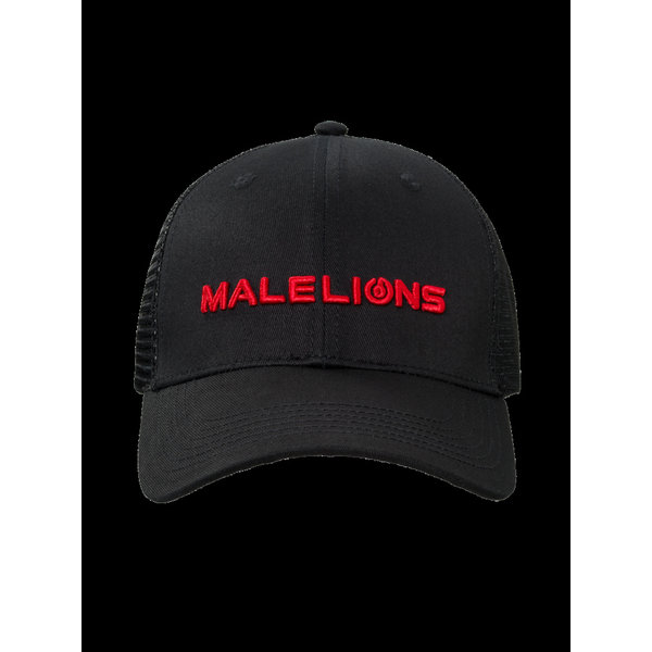 Malelions Cap Black/Red