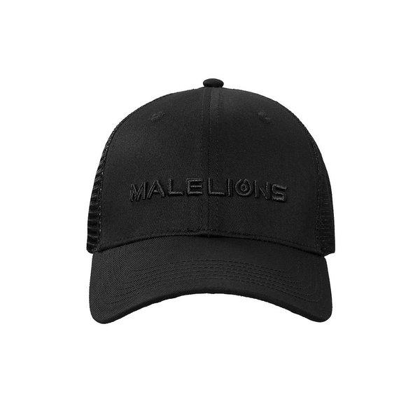 Malelions Cap Black On Black