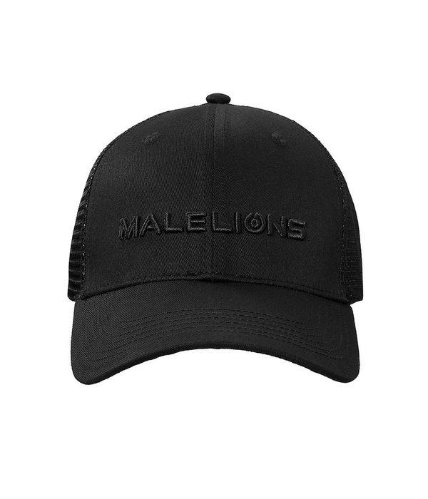 Malelions Malelions Cap Black On Black