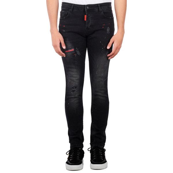 My Brand Washed MM Long Jeans Denim Black