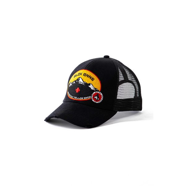 Black Bananas Ski Patrol Truckercap Black