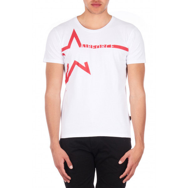 Airforce Tee Star TB91M0592 White/Formula