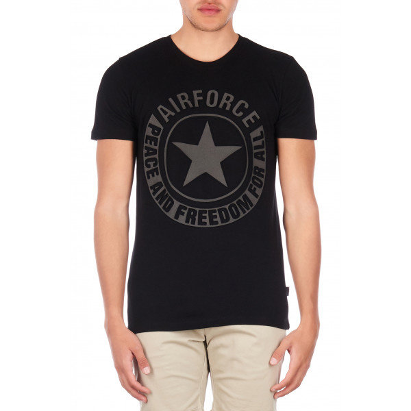 Airforce Tee Emboss Reflection True Black 901