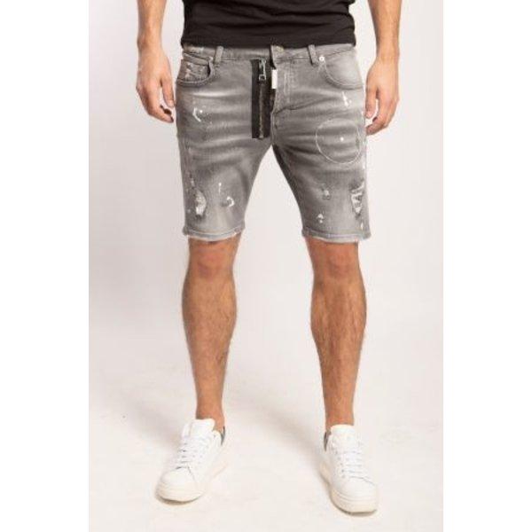 My Brand Washed 1K Short Jeans Denim Grey