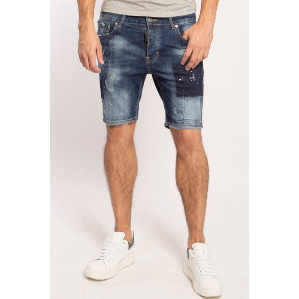 My Brand Washed 1C Short Jeans Denim Blue