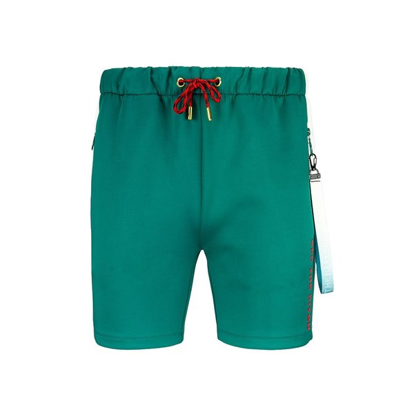 Off The Pitch Valuebet Trackshort Green/off-White