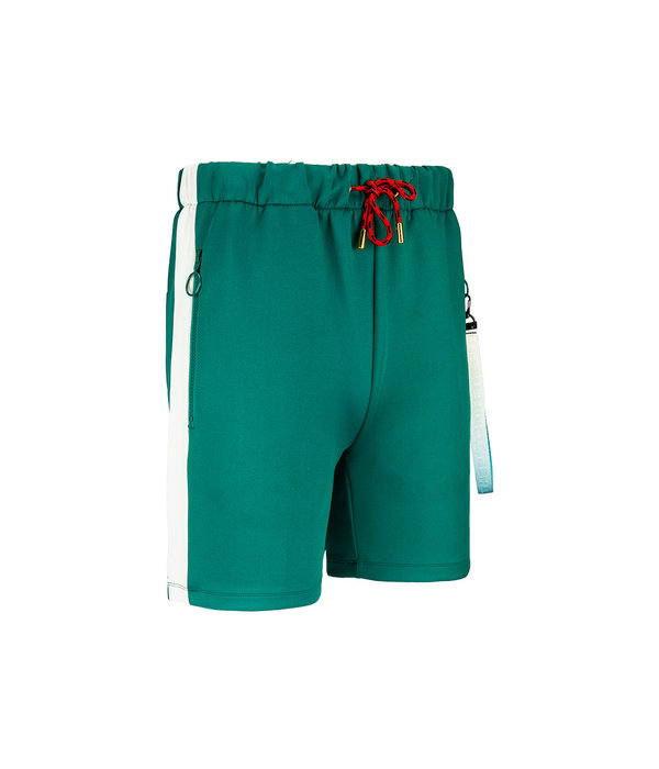 Off The Pitch Off The Pitch Valuebet Trackshort Green/off-White