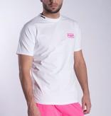 My Brand My Brand MB White Neon Pink T-Shirt