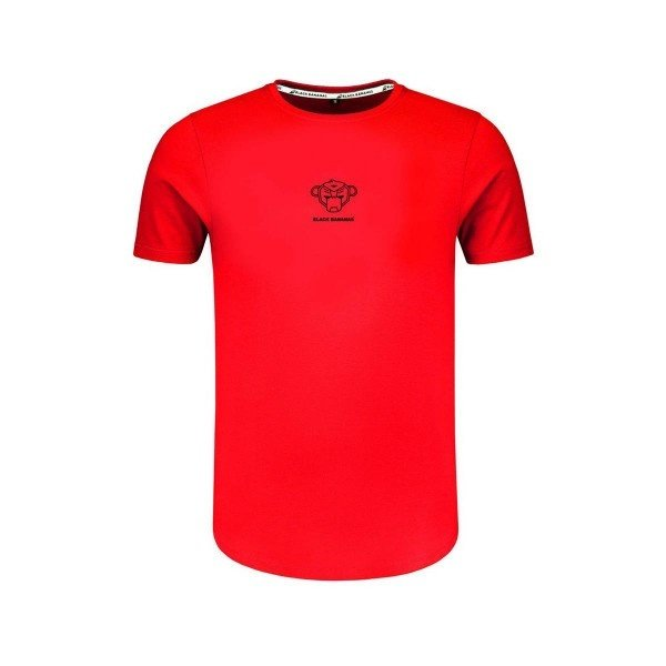 Black Bananas Muscle Tee Pequeno Red