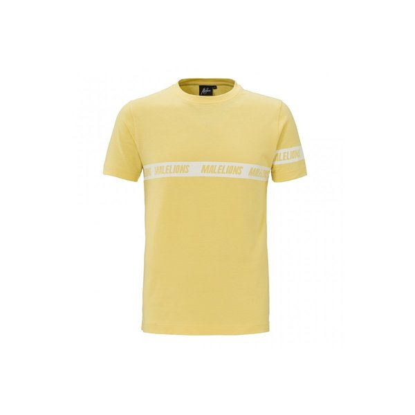 Malelions Captain T-shirt Soft Yellow